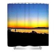 Sunset IIi Shower Curtain