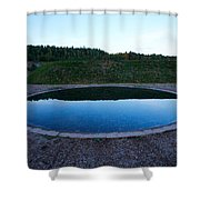 Up And Under Shower Curtain