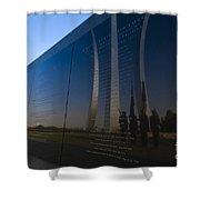 Us Air Force Memorial Shower Curtain