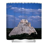 Uxmal Ruins Shower Curtain