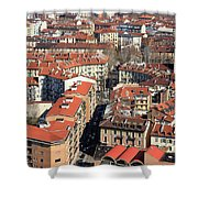 View Of Turin Shower Curtain