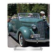Vintage Cars Shower Curtain