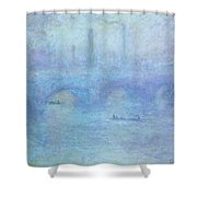 Waterloo Bridge Shower Curtain
