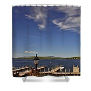 Weirs Beach Shower Curtain