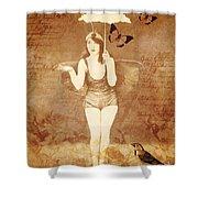Winsom Women Shower Curtain