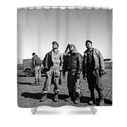 Wwii: Tuskegee Airmen, 1945 Shower Curtain