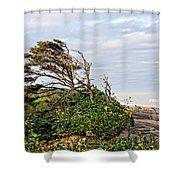 Yachats Oregon Shower Curtain