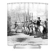 Yorktown: Surrender, 1781 Shower Curtain