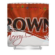 Cleveland Browns Shower Curtain