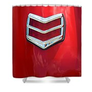 40 Ford Coupe Tail Light Shower Curtain