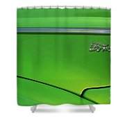 40 Ford - Side Logo-8677 Shower Curtain