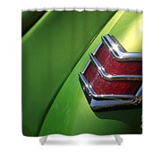 40 Ford - Tail Light-8531 Shower Curtain