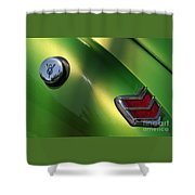 40 Ford - Tank N Tail Light-8527 Shower Curtain