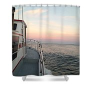 40 Out Shower Curtain