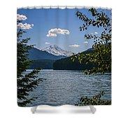 40620-3 Detroit Lake And Mt Jefferson Shower Curtain