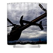 407 Clouds Shower Curtain
