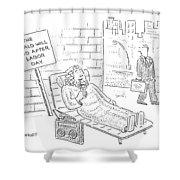 New Yorker September 4th, 2006 Shower Curtain