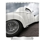 41 Willys Coupe Shower Curtain