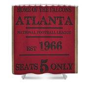 Atlanta Falcons Shower Curtain