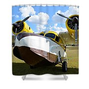 '42 Goose Shower Curtain