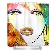 Pikotine Art Shower Curtain
