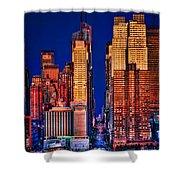42nd Street Shower Curtain