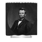 Abraham Lincoln (1809-1865) Shower Curtain