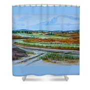 43. Gettysburg - The Land Remembers Shower Curtain