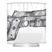45 Acp Shower Curtain