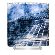 The Shard London Shower Curtain