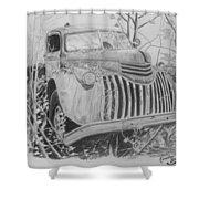 46 Chevy Treasure Shower Curtain