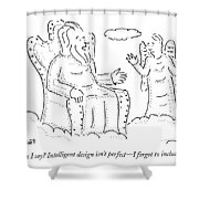 What Can I Say? Intelligent Design Isn't Perfect Shower Curtain