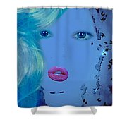 Blanche Shower Curtain