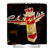 47 Packard Logo Shower Curtain