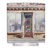 471 West Broadway Soho New York City Shower Curtain