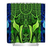 479 - Secret Dwellers In The Woods Shower Curtain