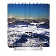 Aerial Photo Shower Curtain