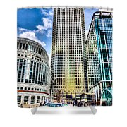 Canary Wharf London Shower Curtain
