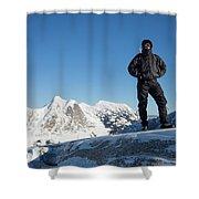 Mountaineering Shower Curtain