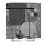48th Shade Of Gray Shower Curtain