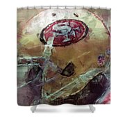 49ers Art Shower Curtain