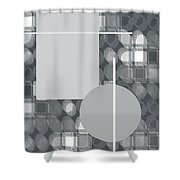 49th Shade Of Gray Shower Curtain