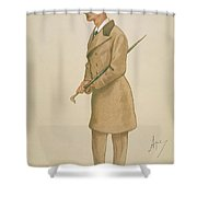 4th Earl Of Dunhaven, Amd Mount-earl Shower Curtain