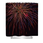 4th July #12 Shower Curtain
