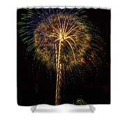 4th July #13 Shower Curtain