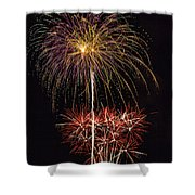 4th July #3 Shower Curtain