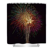 4th July #6 Shower Curtain