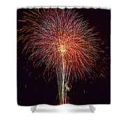 4th July #8 Shower Curtain