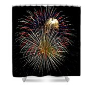 4th Of July 1 Shower Curtain by Marilyn Hunt
