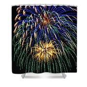 4th Of July 2014 Fireworks Mannington Wv 1 Shower Curtain
